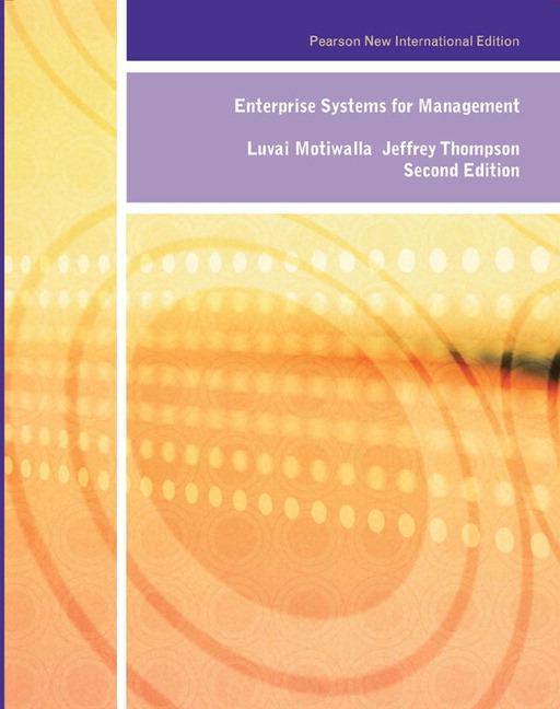Enterprise Systems for Management: Pearson New International Edition, 2e (e-Book VS 12m)