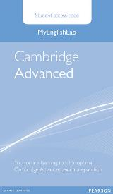 MyEnglishLab: Cambridge Advanced Student's Online Access Code