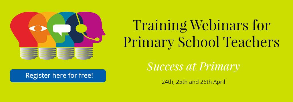 Training Webinars for Primary School Teachers