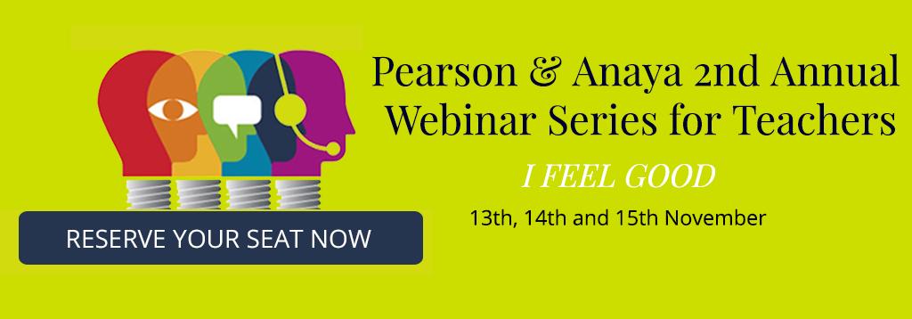 Pearson & Anaya 2nd Annual Webinar Series for Teachers
