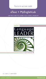New Language Leader Pre-Intermediate eText and MyEnglishLab Online Access Code