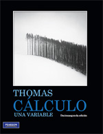 eBook | Cálculo una variable | Autor:Thomas | 12ed | Libros de Matemáticas